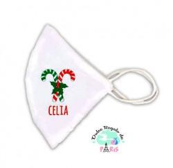 Mascarilla Higiénica reutilizable Personalizada Navidad