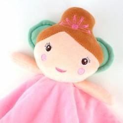 Dou Dou Sonajero y Chupete Baby Hada Personalizados Dou Dou