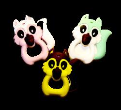 Figuritas mordedores de silicona Figuritas de Silicona