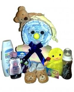 Tarta de Pañales Muñeco de Nieve   Ropa para bebe personalizada