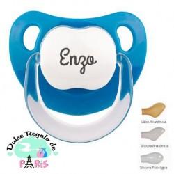 Chupete Baby Personalizado Azul Denim