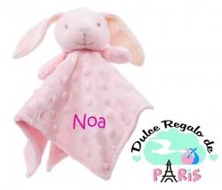 DOU-DOU Cabecitas Conejito Rosa +0m Personalizado DOU-DOU