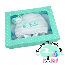 Cajita Set recién nacido rosa, azul o menta Cajita Set recién