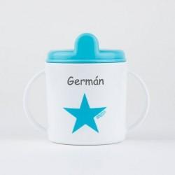 Taza Estrella azul +9M personalizada Taza estrella azul