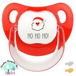 Chupete Baby Deco Ho Ho Ho! con Papá Noel Chupete Baby Deco Ho