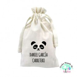 Mascarilla Higiénica reutilizable Personalizada Panda Color a
