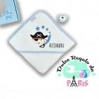 Cajita  baby baño pirata personalizada